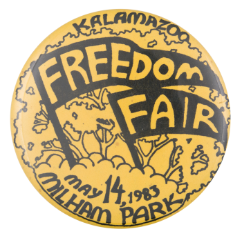 Kalamazoo Freedom Fair Event Button Museum