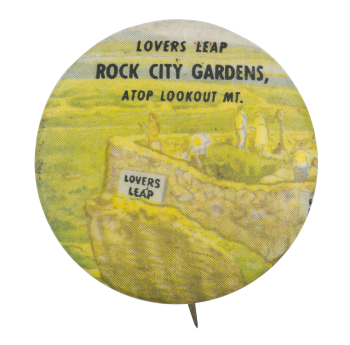 Lovers Leap Event Button Museum