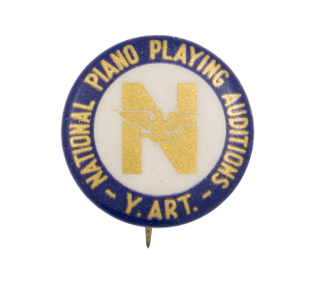 National Piano Playing Auditions Event Button Museum
