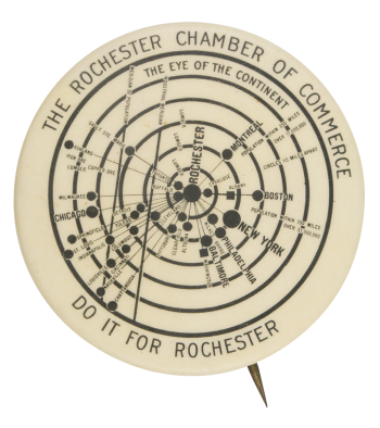 Rochester Chamber of Commerce  Club Button Museum