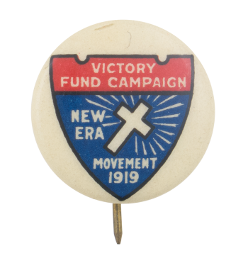Victory Fund Campaign Events Button Museum