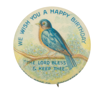 We Wish You a Happy Birthday Event Button Museum