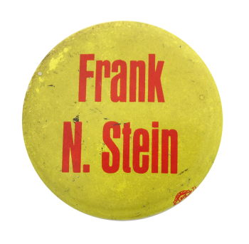 Frank N. Stein Humorous Button Museum