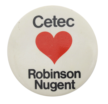 Robinson Nugent I heart Button Museum