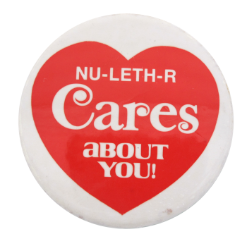Nu-Leth-R Cares I heart Button museum