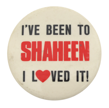 Shaheen  I heart button museum