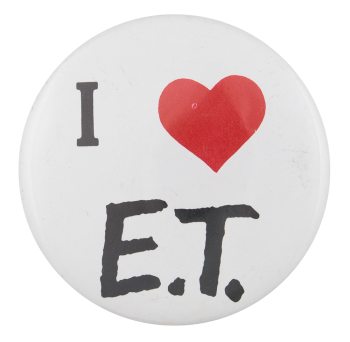 I Love E.T. I Heart Button Button Museum