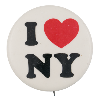 I Love New York 3 I Heart Buttons Button Museum