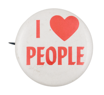 I Heart People I ♥ Buttons Button Museum