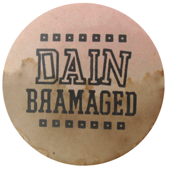 Dain Bramaged Humorous, Button Museum