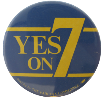 Yes On 7, Cause, Button Museum