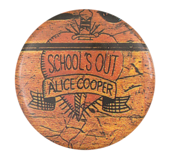 Alice Cooper Schools Out Music Button Museum
