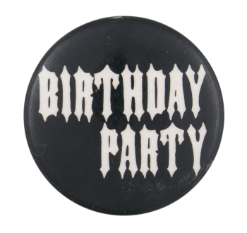 Birthday Party Music Button Museum
