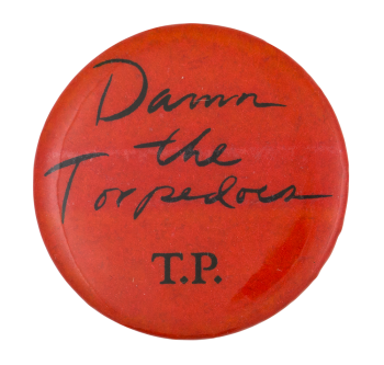 Tom Petty Damn the Torpedoes Music Button Museum