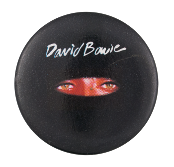 David Bowie Eyes Music Button Museum
