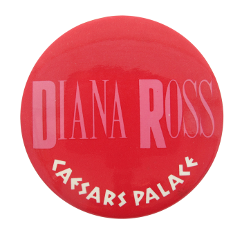 Diana Ross Caesars Palace Music Button Museum