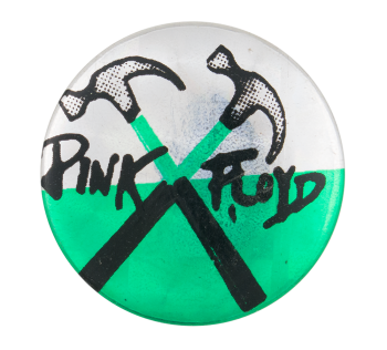 Pink Floyd Hammers Music Button Museum
