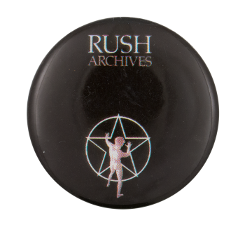 Rush Archives Music Button Museum