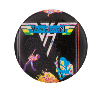 Van Halen Music Button Museum