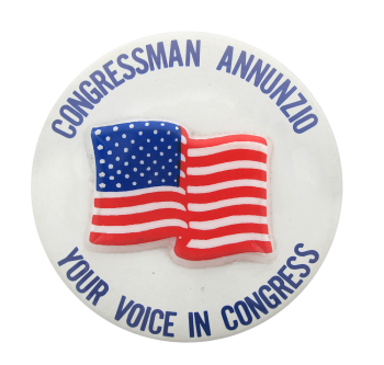 Congressman Annunzio Political Button Museum