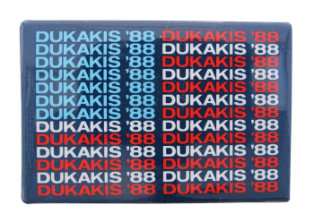 Dukakis '88 Political Button Museum