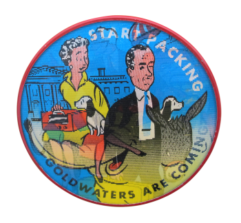 Goldwaters Are Coming Political Button Museum
