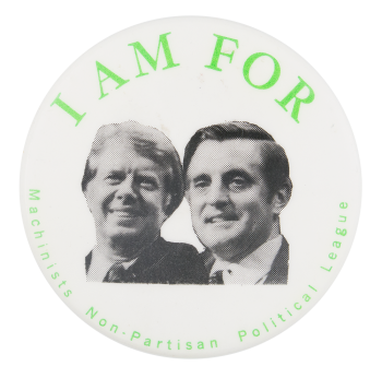 I'm for Carter and Mondale Political Button Museum