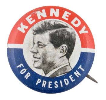 Kennedy for President Political Button Museum