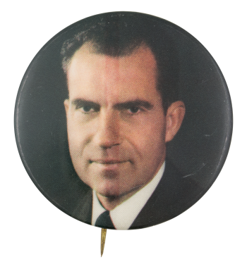Nixon Portrait Political Button Museum