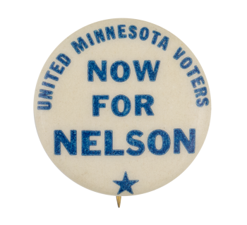 Now for Nelson Political Button Museum