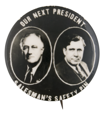 Our Next President  Political Button Museum