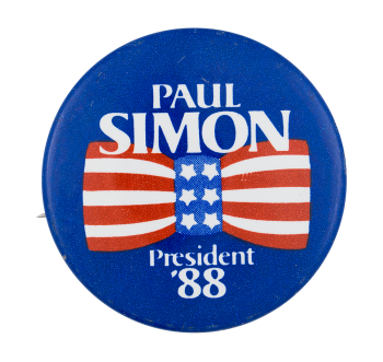 Paul Simon for President Political Button Museum