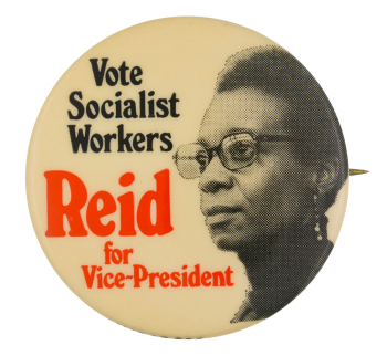 Reid for Vice President Political Button Museum