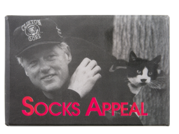 Socks Appeal Political Button Museum