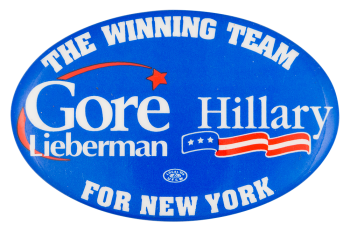 The Winning Team for New York Political Button Museum