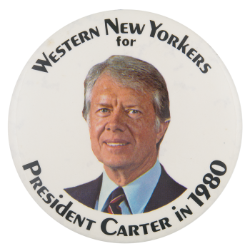 Western New Yorkers for Carter Political Button Museum