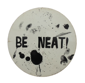 Be Neat Social Lubricators Button Museum