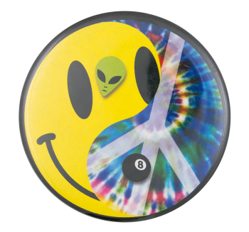 Cool in the 90s Smileys Button MuseumS