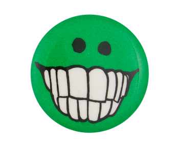 Jimmy Carter Teeth Smiley Smileys Button Museum