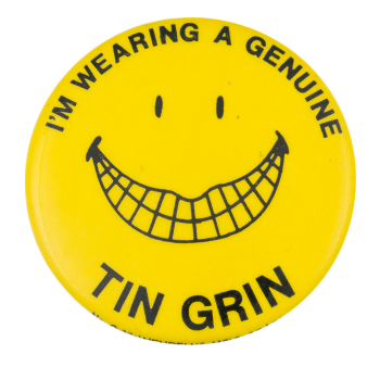 Tin Grin Smileys Button Museum