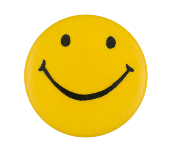 Yellow Smiley 11 Smileys Button Museum