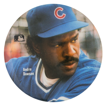 Andre Dawson Cubs Chicago Button Museum