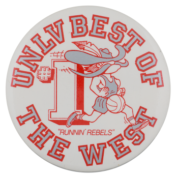 UNLV Best of the West Schools Button Museum