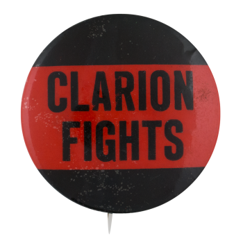Clarion Fights Sports Button Museum