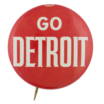 Go Detroit Sports Button Museum