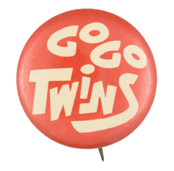 Go Go Twins Sports Button Museum