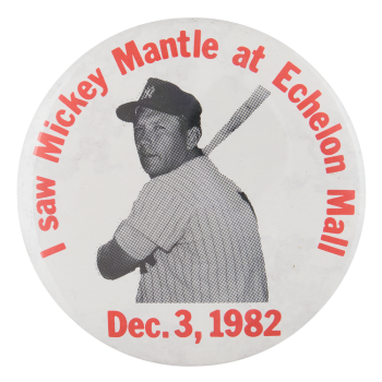 Mickey Mantle Sports Button Museum