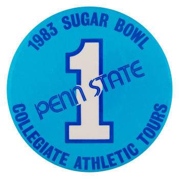 Penn State Sugar Bowl Schools Button Museum