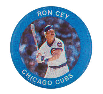 Ron Cey Chicago Cubs Sports Button Museum