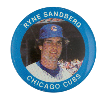 Ryne Sandberg Chicago Cubs Sports Button Museum